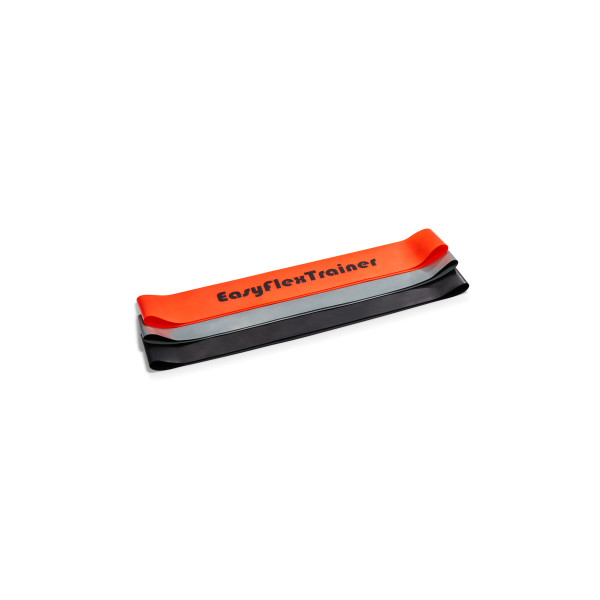 EasyFlexTrainer - Mini Loop Band set of 3 (light-medium-heavy)